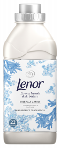 LENOR Ammorbidente Concentrato Natural Minerali Marini Per bucato 550 ml
