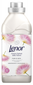 LENOR Ammorbidente Concentrato Natural Fiori di seta Per bucato 550 ml