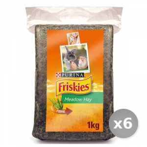 Set 6 BOB MARTIN Rodents Hay 1 kg Product For the Care Of the Animals