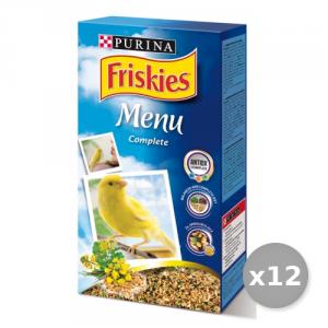 Set 12 BOB MARTIN Canaries Menu Complete Prebiotic 400 gr 12281944 Animals Domestic
