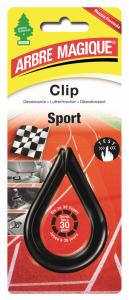 ARBRE MAGIQUE Deodorante Clip Sport Profumo