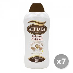 Set 7 ALTHAEA Balsamo argan 750 ml prodotto per la cura dei capelli