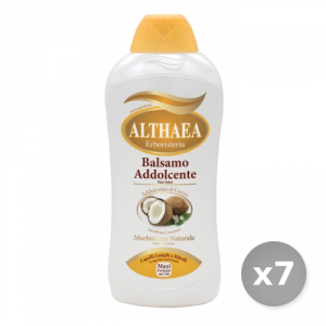 Set 7 ALTHAEA Balsamo cocco 750 ml prodotto per la cura dei capelli