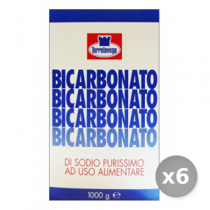 Set 6 TORRELAVEGA Bicarbonate 1000 gr Detergents House
