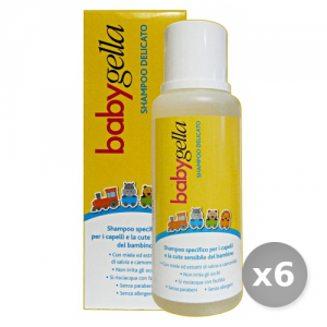 Set 6 BABYGELLA Shampooing D?licat 250 ml Ligne B?b?