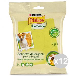 Set 12 BOB MARTIN Salviette Detergenti Animali Argan 12296823 Prodotto Animali Domestici