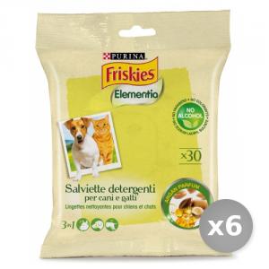 Set 6 BOB MARTIN Salviette Detergenti Animali Argan 12296823 Prodotto Animali Domestici