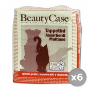 Set 6 BEAUTY CASE Tappetini Ass.mult. 60x60 x 10 Pezzi Articoli per Animali