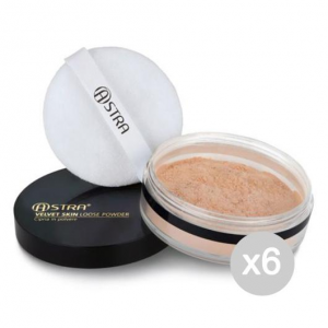 ASTRA Set 6 ASTRA Velvet Skin Loose Sunset Cipria - Cosmetico cipria