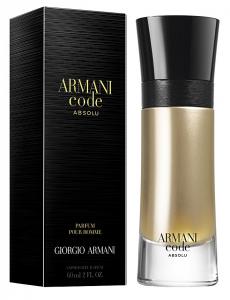 ARMANI Code absolu eau de parfum uomo 60 ml profumo per il corpo