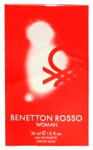 BENETTON Rosso Eau de toilette Donna 30 ml - Profumo Femminile