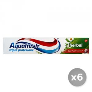 Set 6 AQUAFRESH Dentifricio 75 ml Prodotti per il Viso