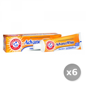Set 6 ARM & HAMMER Dentifricio Advance White Ultra Bianco 75 ml Prodotti per il Viso