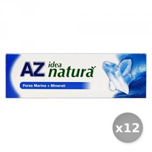 Set 12 AZ Dentifricio Idea Natura Marina + Minerali 75 ml Prodotti per il Viso