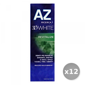 Set 12 AZ Dentifricio 3d Revitalize 75 ml Prodotti per il Viso