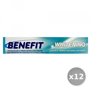 Set 12 BENEFIT Dentifricio 75 ml Whitening Prodotti per il Viso