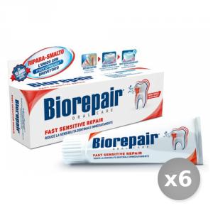 Set 6 BIOREPAIR Dentifricio Sensitive 75 ml Prodotti per il Viso