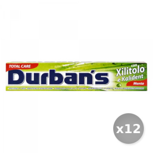 Set 12 DURBAN'S Dentifricio Xilitolo 75 ml Prodotti per il Viso