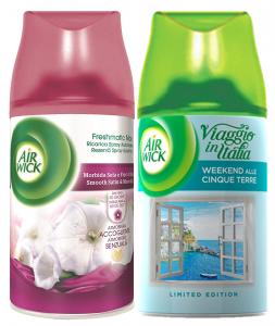 AIR WICK Filtrattivo Misto Ricarica 250 ml Seta/Fiori Di Luna Deodorante
