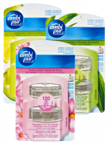 AMBI PUR Set&Refresh Ricarica Misto Deodorante Candele E Profumatori