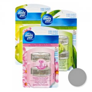 AMBI PUR Set 8 Actualizar Recarga Mixto Desodorante Velas Y Ambientadores