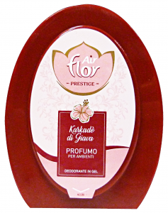 AIR FLOR Assorbi odori Gel Karkade'Di Giava 150 gr Deodorante Profumatore Ambiente