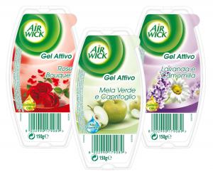 AIR WICK Gel Misto Deodorante Candele E Profumatori