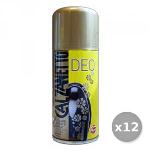 Set 12 CALZANETTO Deodorante Scarpiere-Calzature Antisettico 150 ml Attrezzi Pulizie