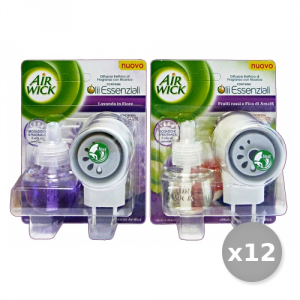 AIR WICK Set 12 AIR WICK Spina Base Misto Deodorante - Deodoranti Casa