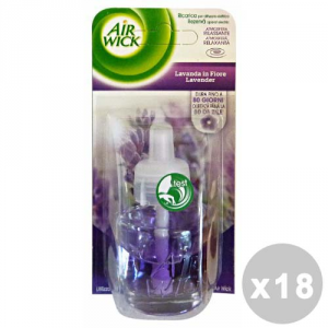 AIR WICK Set 18 AIR WICK Spina Ricarica 19 ml Lavanda - Deodoranti Casa