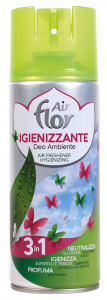 AIR FLOR Spray 3in1 Igienizzante 400 ml Deodorante Casa