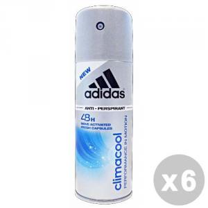 ADIDAS Set 6 ADIDAS Deodorante Spray Climacool 150 ml - Deodoranti Uomo