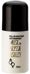 ALYSSA ASHLEY MUSK Deodorante Roll-On Donna 50 ml Deodoranti Per il Corpo