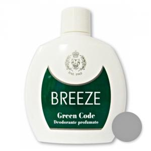 BREEZE Set 6 Deodorante Squeeze Green Code 100 ml Cura del corpo