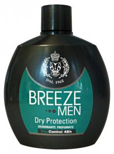 BREEZE Deodorante Squeeze Men Dry Prot.100 ml - Deodorante Maschile