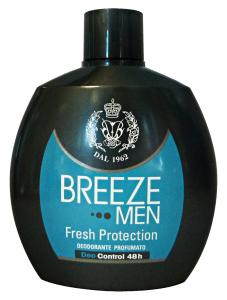 BREEZE Deodorante Squeeze Men Fresh Prot.100 ml - Deodorante Maschile