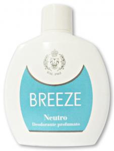 BREEZE Deodorante Squeeze Neutro 100 ml - Deodorante Femminile E Unisex