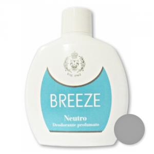 BREEZE Set 6 Deodorante Squeeze Neutro 100 ml Cura del corpo