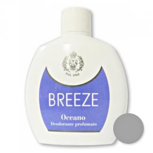 BREEZE Set 6 Deodorante Squeeze Oceano 100 ml Cura del corpo