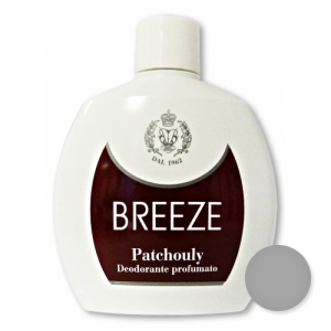 BREEZE Set 6 Deodorante Squeeze Patchouly 100 ml Cura del corpo
