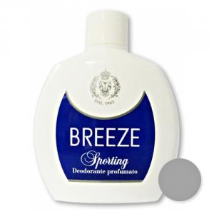 BREEZE Set 6 Deodorante Squeeze Sporting 100 ml Cura del corpo