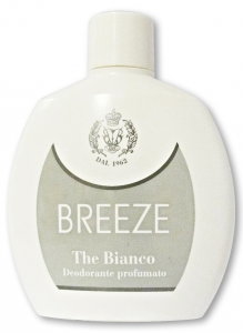 BREEZE Deo.squeeze The Bianco 100 ml - Deodorante Femminile E Unisex