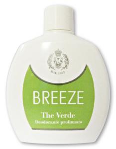BREEZE Deodorante SQUEEZE The Verde 100 ml Deodoranti Per il Corpo