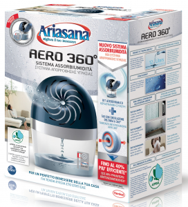 ARIASANA Absorbency Base Aero 360 ° Dehumidifier