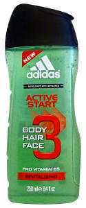 ADIDAS Doccia Shampoo Active Start 250 ml Doccia Schiuma