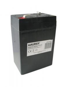 Batteria Ricambio 6 Volt Per Lampade 93118-93119 Materiale Elettrico