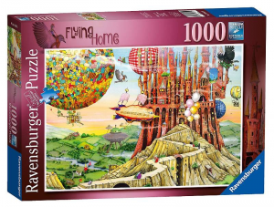 RAVENSBURGER Puzzle 1000 Pieces Ultimi Preparativi di babbo Christmas