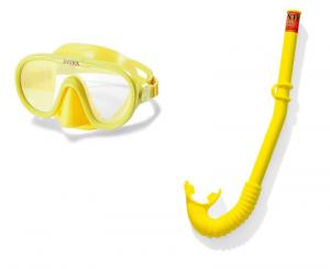INTEX Set maschera e boccaglio adventurer accessorio subacqueo