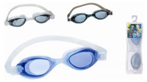 BEST WAY Occhialini activwave silicone con protezione uv 3 colori assortiti