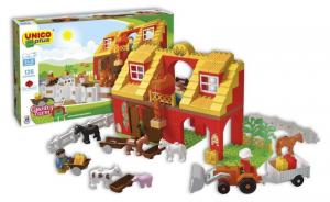 ANDRONI Scatola costruzioni unico 126 pezzi fattoria gioco per bambini
